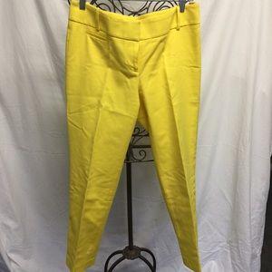 LOFT Dress pants in hot yellow